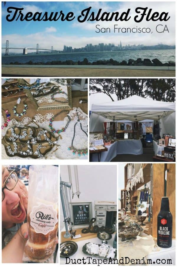 Treasure Island Flea market, last weekend of every month (except December). One of the best flea markets in the Bay Area! San Francisco, California | DuctTapeAndDenim.com