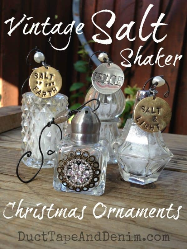 Fabulous Vintage Salt Shaker Christmas Ornament Tutorial {VIDEO} ZR48