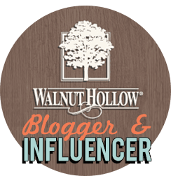 Walnut Hollow Blogger and Influencer Badge