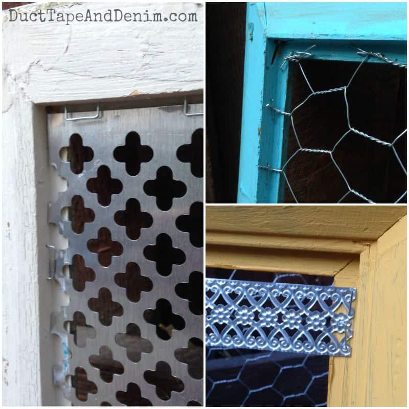 Back sides of frames | DuctTapeAndDenim.com