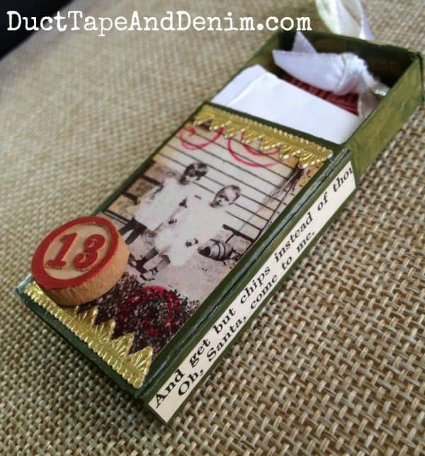 Diy Matchbox Advent Calendar : How to make a diy matchbox advent calendar for christmas