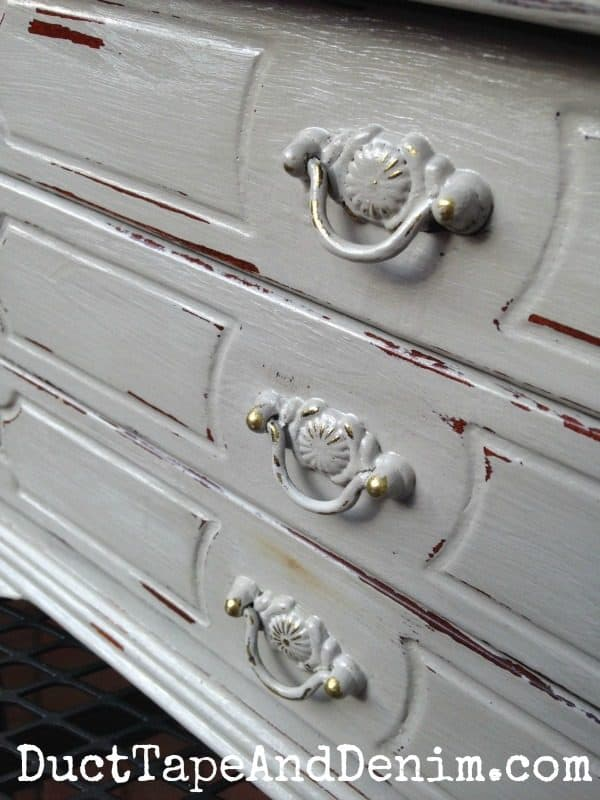 Jewelry box makeover with CeCe Caldwell's Paints