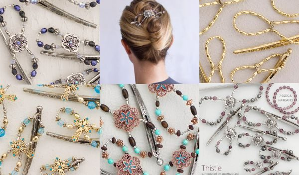 Lilla Rose NEW flexi-clips for September 2015. My favorite hair clips and accessories. | DuctTapeAndDenim.com