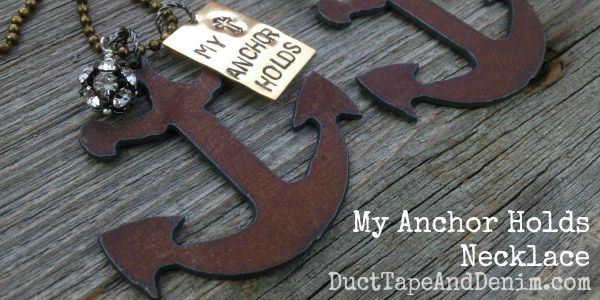 Anchor Necklace | Why I Use Anchors in My Jewelry Designs