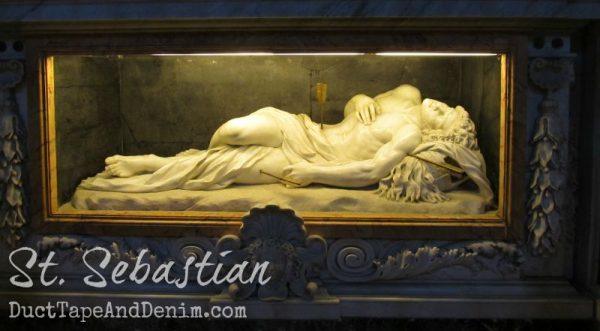 St Sebastian in Rome | DuctTapeAndDenim.com