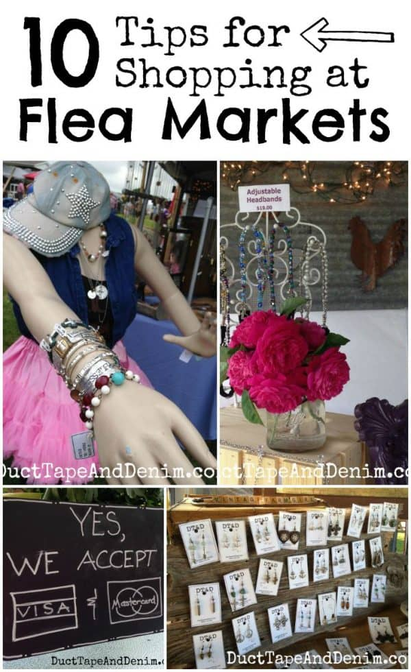 10 tips for shopping at Antique Alley or any other flea market   DuctTapeAndDenim.com