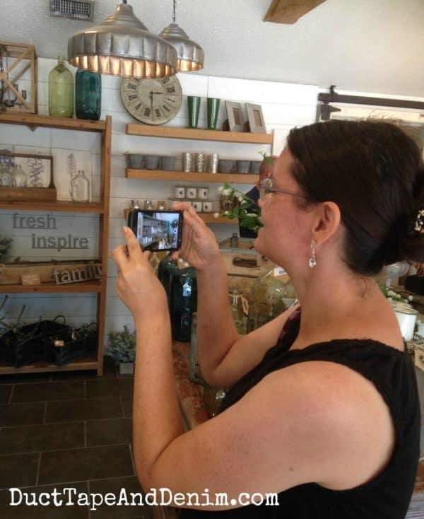 More photo taking at Magnolia Market | DuctTapeAndDenim.com