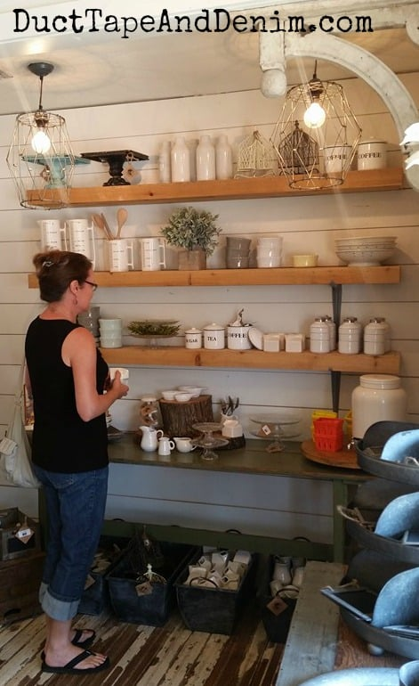 Shopping at Magnolia Market in Waco Texas | DuctTapeAndDenim.com