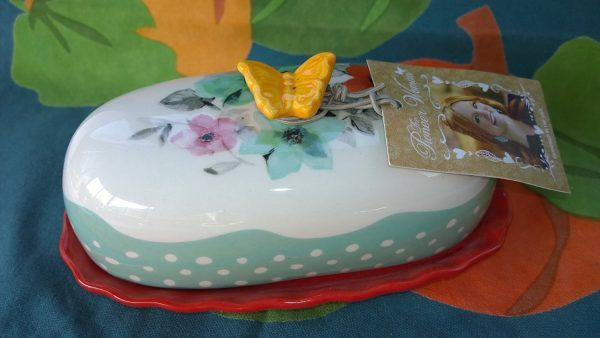 2015 holiday gift guide for women, Pioneer Woman's Flea Market butter dish