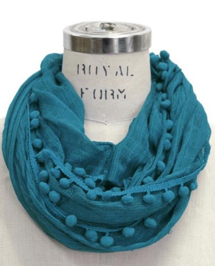 2015 holiday gift guide, pom pom scarf