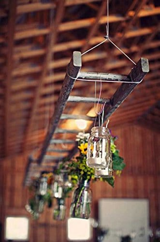 2015 Holiday gift guide for women who love flea markets, barn wood ladder