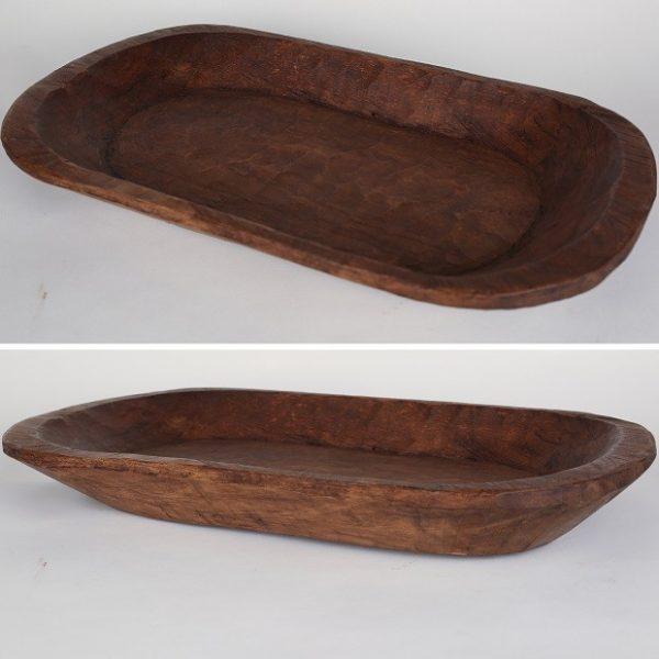 2015 Holiday Gift Guide for Vintage Loving Flea Market Going Women | Vintage Wood Dough Bowl