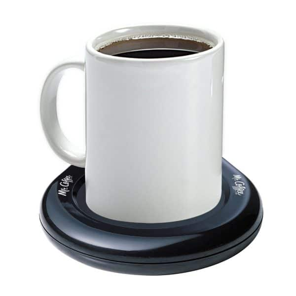 Gift guide for coffee lovers, mug warmer. More gift ideas for coffee lovers on DuctTapeAndDenim.com