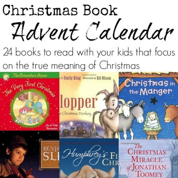 Blog - Christmas book advent calendar SQUARE