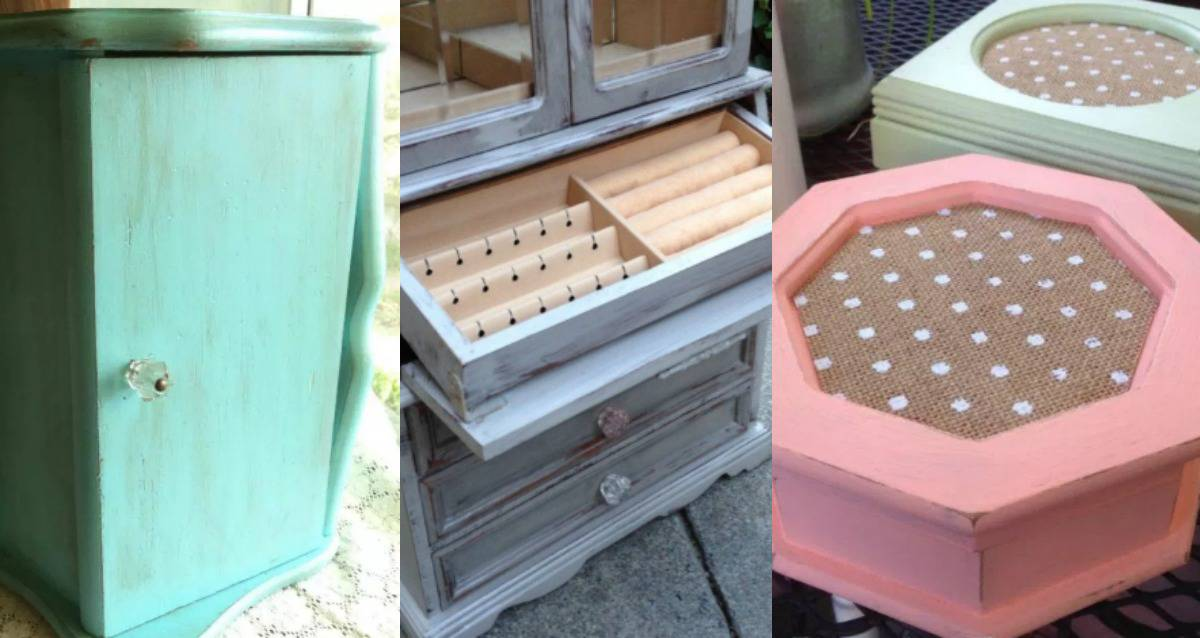 My 10 Favorite Jewelry Cabinet Makeovers