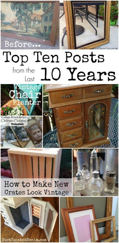 Top Ten Posts from the Last Ten Years | DuctTapeAndDenim.com