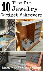 Ten Top Tips for Jewelry Cabinet Makeovers