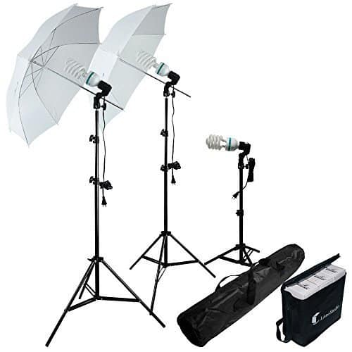 Photography studio light kit