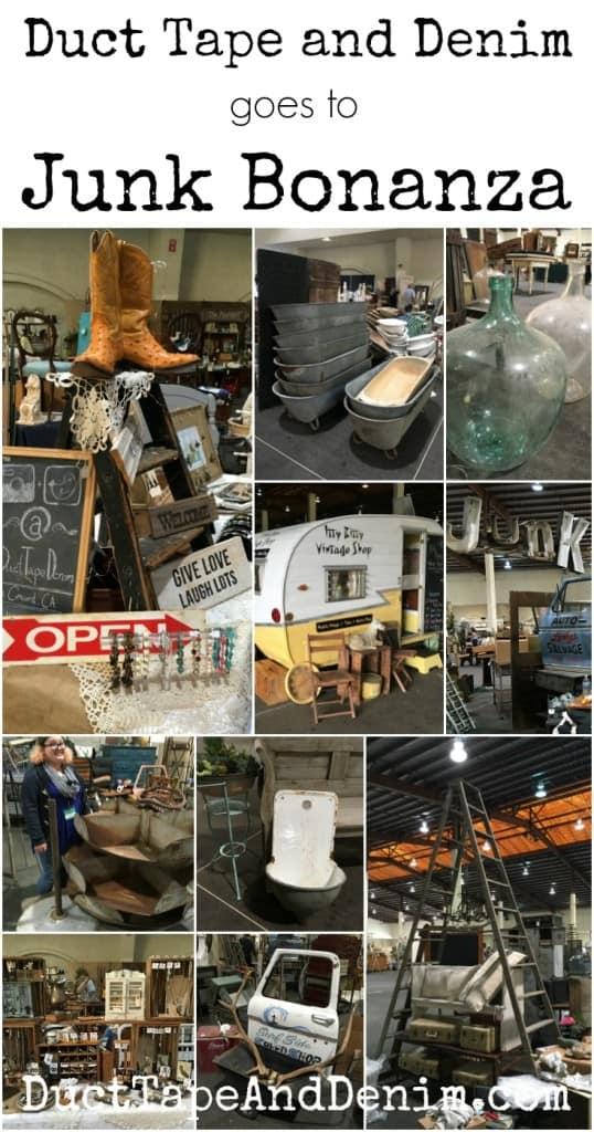 Duct Tape and Denim goes to Junk Bonanza, San Diego, California ~ vintage flea market ~ DuctTapeAndDenim.com