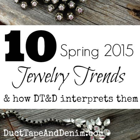 Spring 2015 Jewelry Trends
