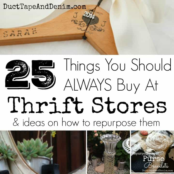 25 Things You Should ALWAYS Buy at Thrift Stores, Part 2