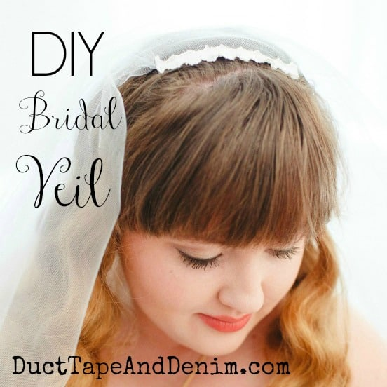 How to Make a Fingertip Veil for Your DIY Wedding