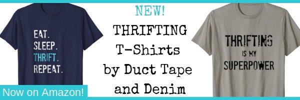Thrifting T-shirts on Amazon, ad 4