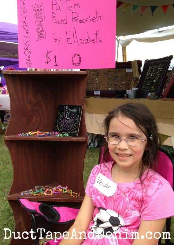 Elizabeth's bracelets for sale at Antique Alley | DuctTapeAndDenim.com