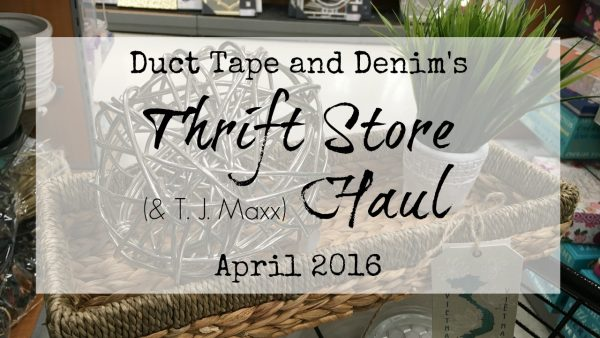 Thrift store haul video #2 | DuctTapeAndDenim.com