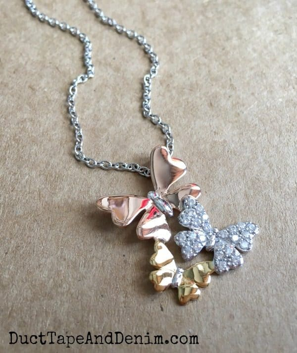 Butterfly Necklace from Hallmark Jewelry | DuctTapeAndDenim.com