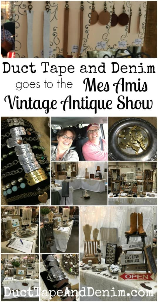 Duct Tape and Denim goes to the Mes Amis Vintage Antique Show | DuctTapeAndDenim.com