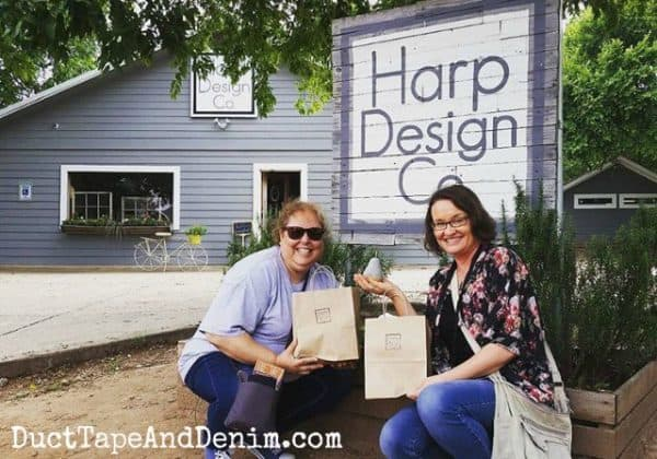 Harp Design Co, Ann, Lynne, and our purchases | DuctTapeAndDenim.com