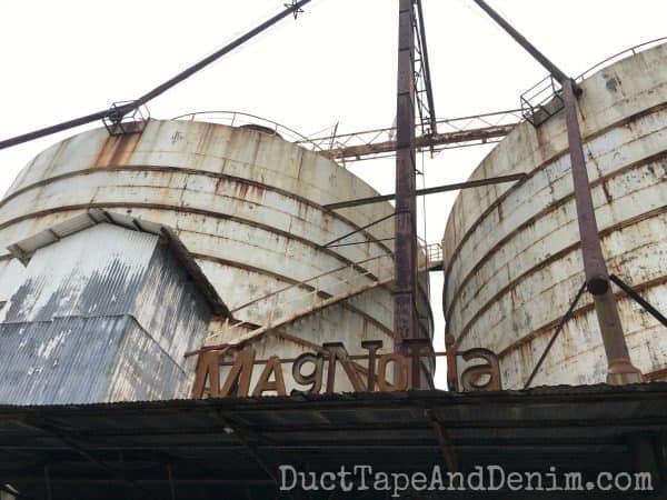 Magnolia Market silos, Waco, Texas | DuctTapeAndDenim.com