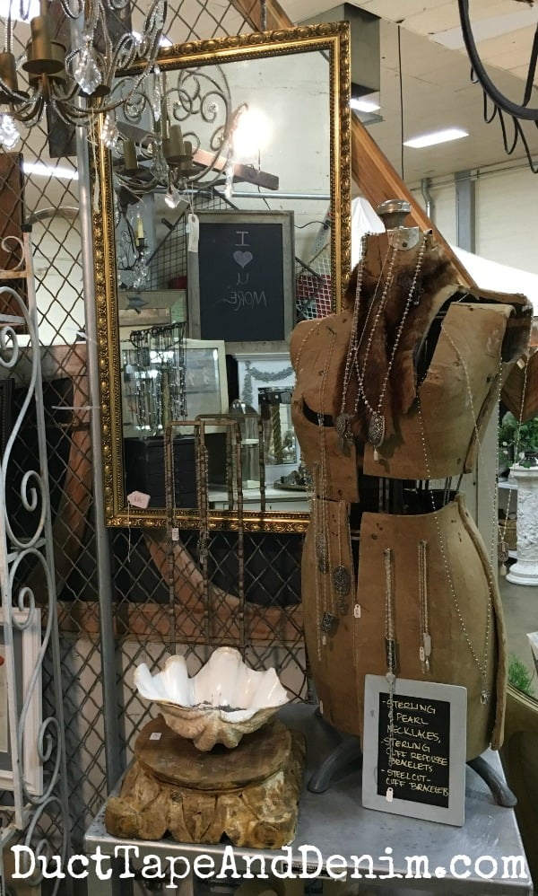 Mes Amis Vintage Antique Show in Roseville, California, Spring 2016