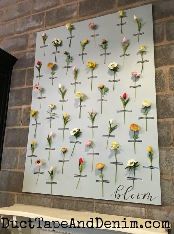 Silk floral wall art in Magnolia Market | DuctTapeAndDenim.com
