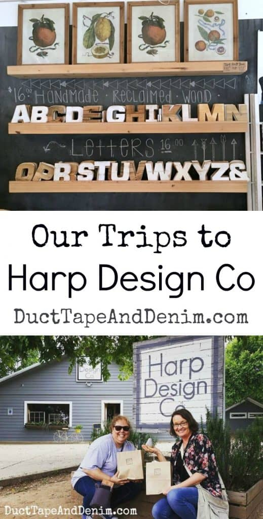 We've been to Harp Design Co in Waco Texas twice now. DuctTapeAndDenim.com