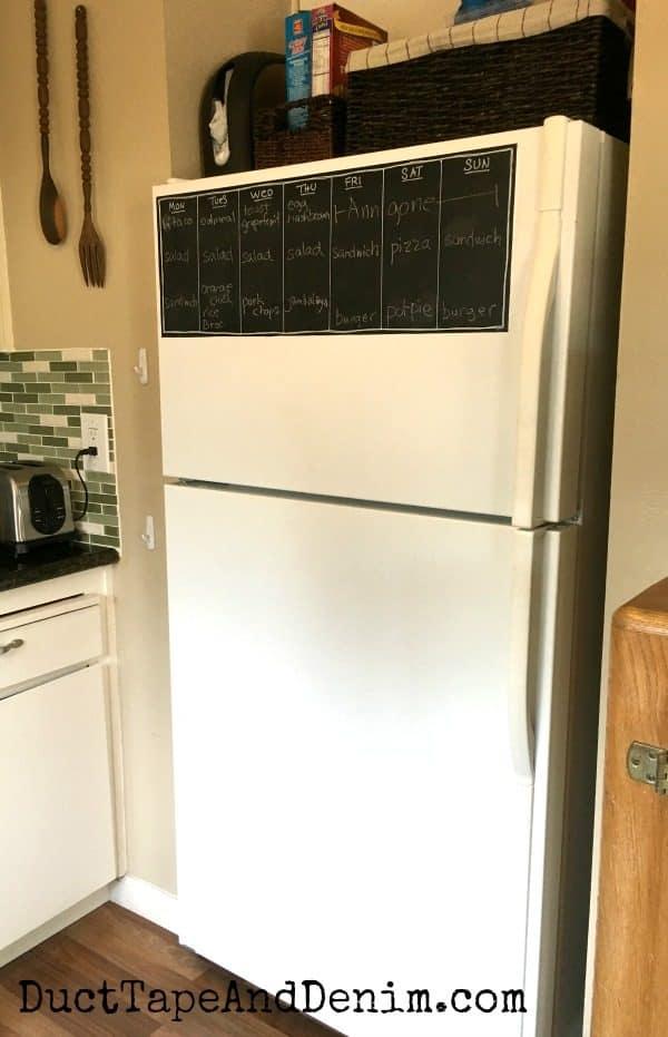 My refrigerator | DuctTapeAndDenim.com