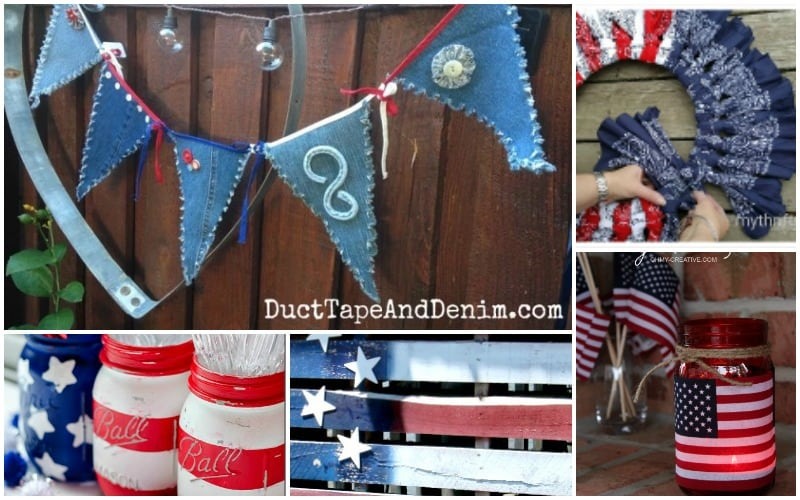 5 Quick Easy July 4th Decorations You Can Make Before the Holiday