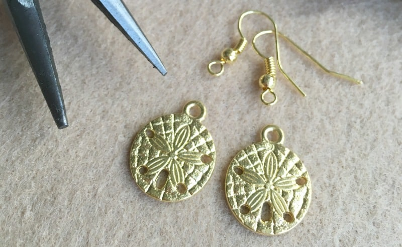 How to Make Summer Charm Earrings