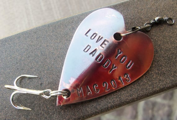 Personalized fishing lure for Daddy