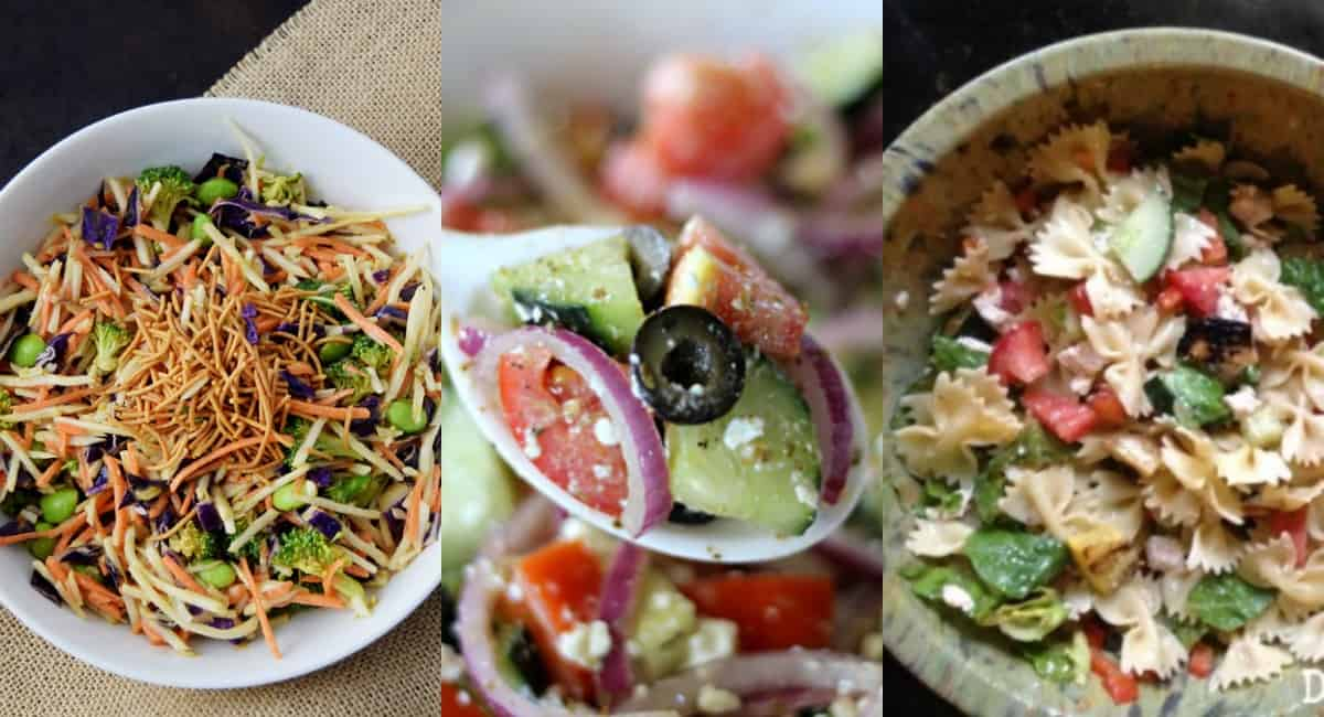 My 5 Favorite Summer Salads