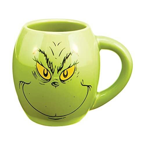 Grinch Christmas coffee mug