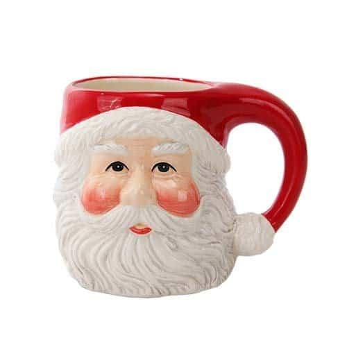 Santa Christmas coffee mug | DuctTapeAndDenim.com
