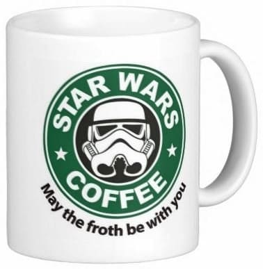 Star Wars Christmas Coffee Mug | DuctTapeAndDenim.com