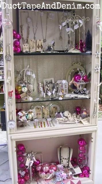 Vintage PINK Shiny Brite Ornaments