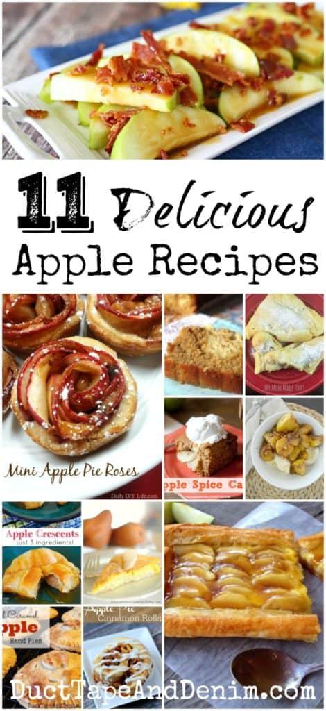 11 delicious apple recipes   DuctTapeAndDenim.com