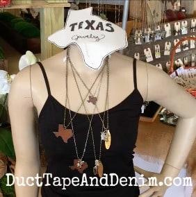 6 - Duct Tape and Denim mannequin at Vintage Market Days Waxahachie Texas | DuctTapeAndDenim.com