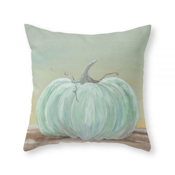 Cinderella Pumpkin throw pillow cover