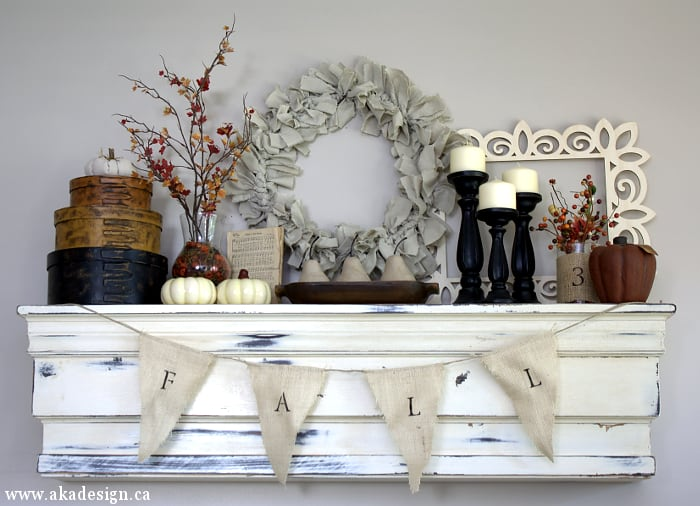 5 Easy Farmhouse DIY Fall Home Decor Projects