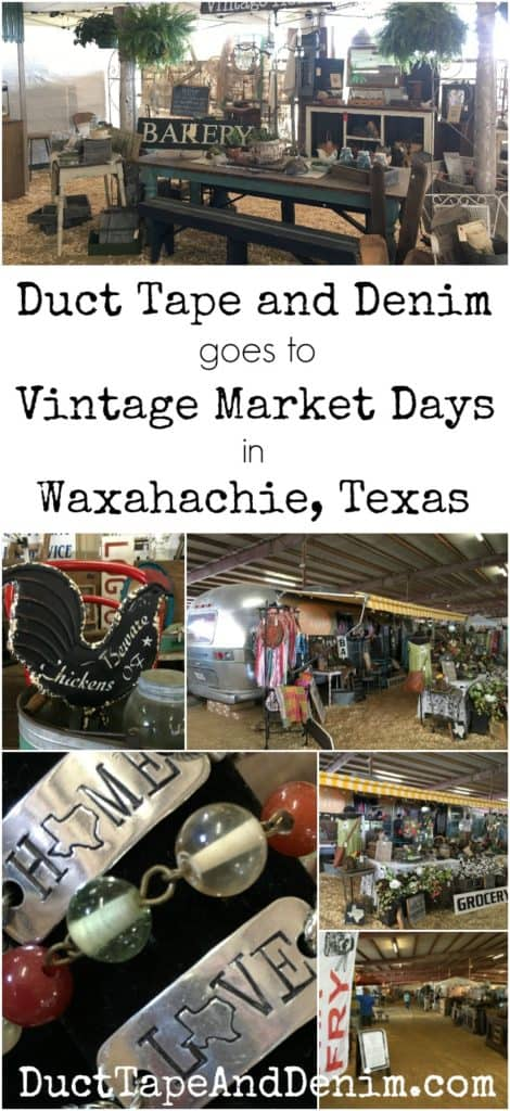 Duct Tape and Denim goes to Vintage Market Days in Waxahachie Texas | DuctTapeAndDenim.com